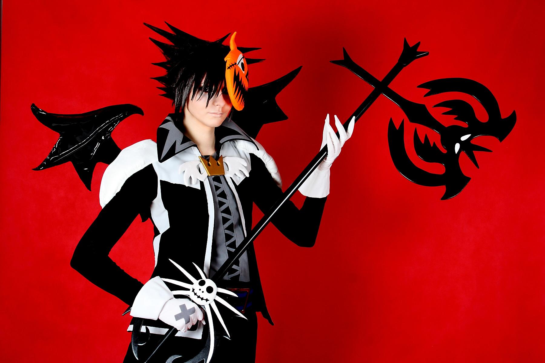 Sora Halloween Town 05 cosplay by 696Axel696 on DeviantArt