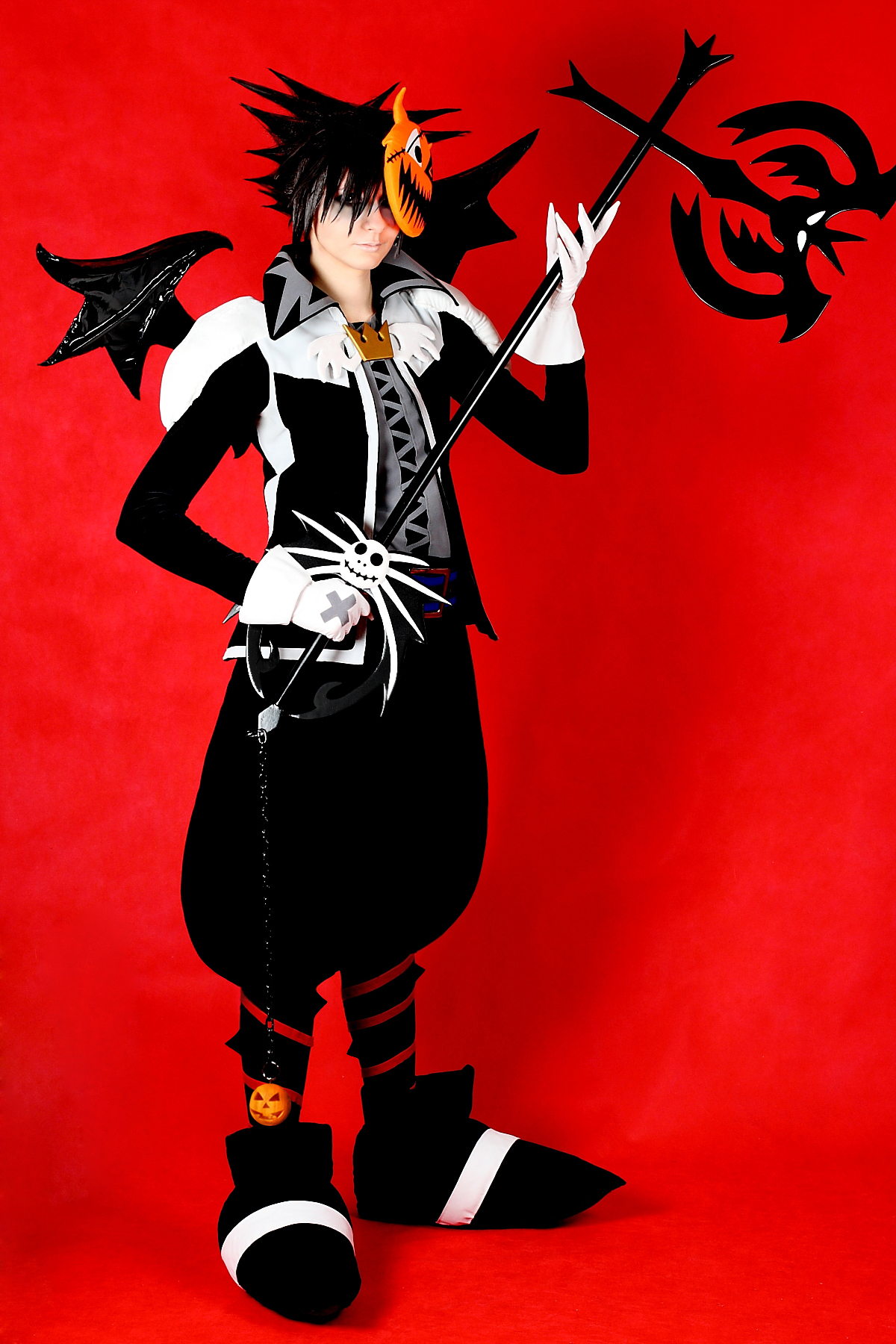 Sora Halloween Town 06 cosplay by 696Axel696