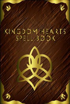 Kingdom Hearts Spell Book - Cover -