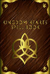 Kingdom Hearts Spell Book - Cover -