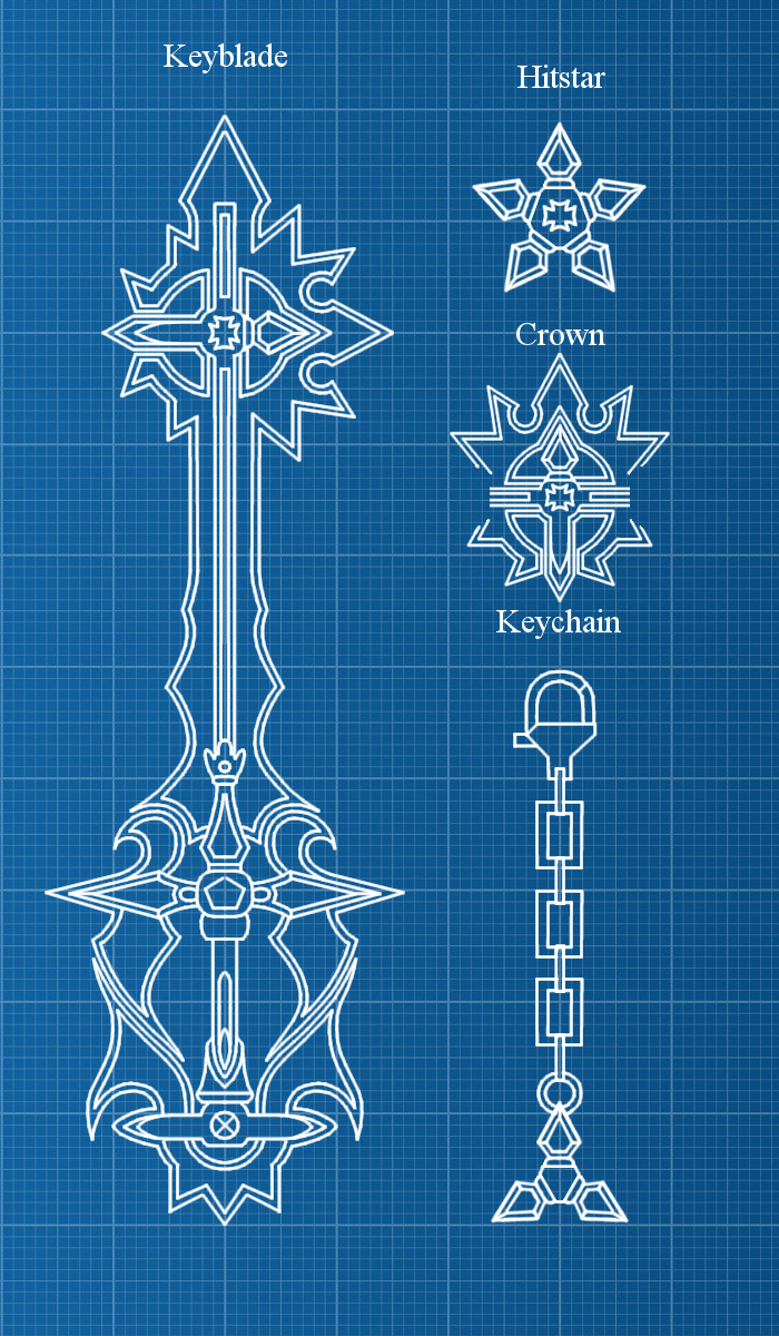 Keyblade blueprint digital legend by weapondesignerdawe on weapondesignerdawe keyblade blueprint digital legend by weapondesignerdawe malvernweather Image collections