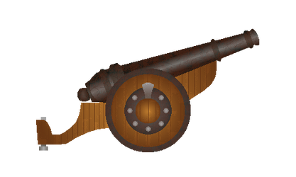 Light Rusted Cannon by WeapondesignerDawe