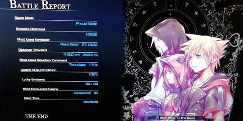 Kingdom Hearts 3 100% Completion by WeapondesignerDawe