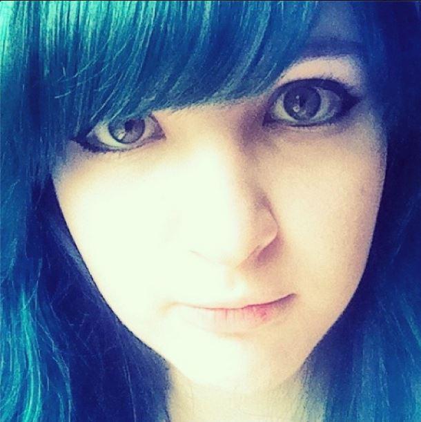 Anime Eyes Makeup By Tressingtons D7kv9w8 Teal Kitten