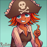 Pirate Hook by RollerGalVal