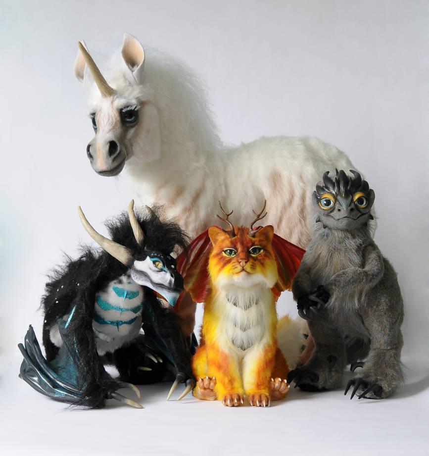 Poseable art dolls