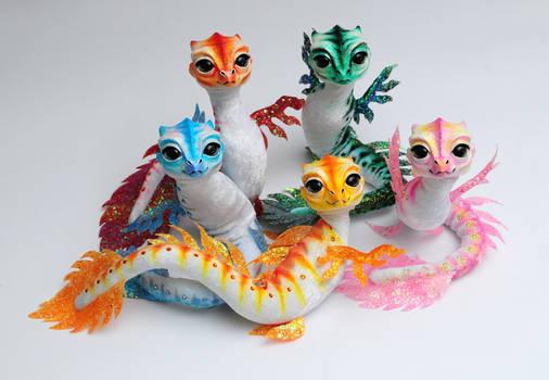 Babywaterdragons, Poseable art dolls