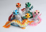 Babywaterdragons, Poseable art dolls
