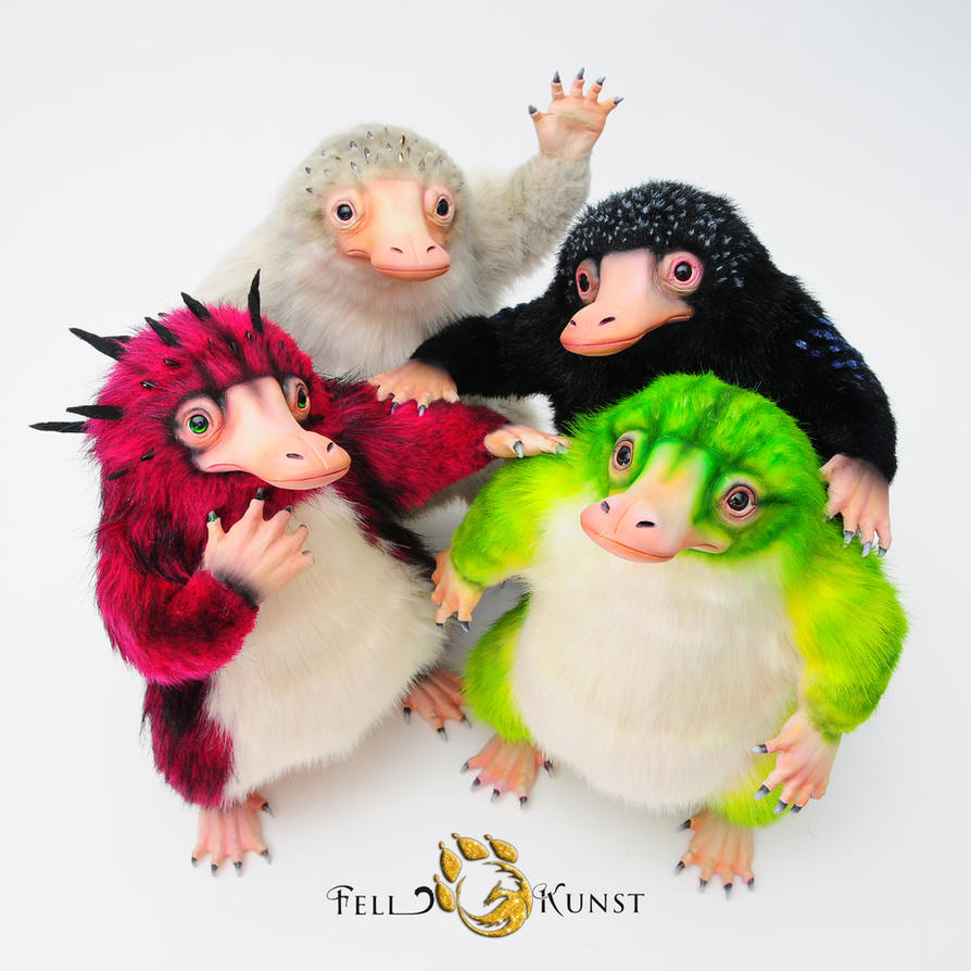 Cool Niffler Gang by FellKunst