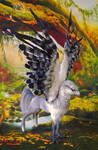 Poseable Art Doll, Hippogriff