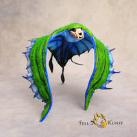 Poseable Art Doll, Swooping Evil by FellKunst