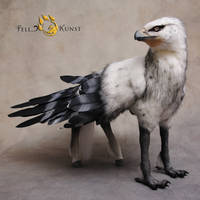Poseable Art Doll, Hippogriff by FellKunst