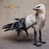 Poseable Art Doll, Hippogriff by FellKunst