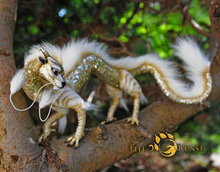 Poseable Art Doll, Chinese Baby Dragon