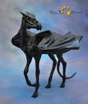 Poseable Art Doll, Thestral