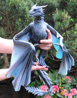 Game of Thrones Viserion, Poseable Art Doll by FellKunst