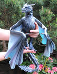 Game of Thrones Viserion, Poseable Art Doll