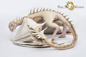 Poseable Art Doll Dragon by FellKunst