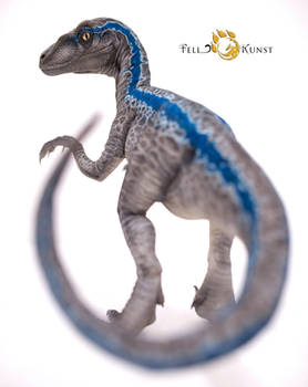 Velociraptor art doll