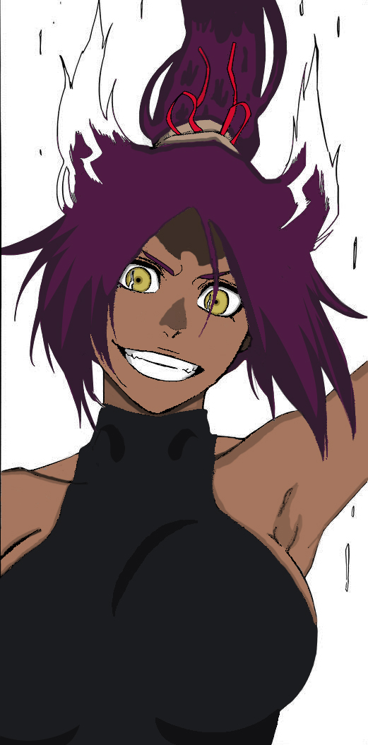 Yoruichi God of Thunder by Darohna on DeviantArt