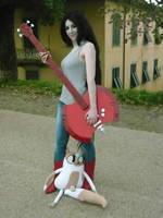 Marceline Cosplay by DemodexPlush