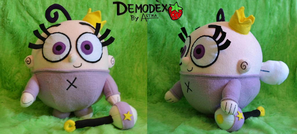 Poof Plush by DemodexPlush on DeviantArt