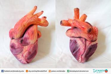 Heart Plush by DemodexPlush