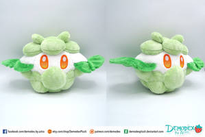 Cottonee custom plush by DemodexPlush