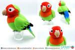 Lovebird Plush