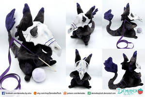 Custum Anxiety Monster Plush by DemodexPlush