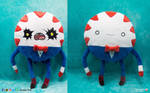 Peppermint Butler double-face Plush