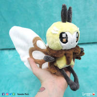 Little Ribombee Plush by DemodexPlush