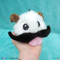 Poro with mustaches plush by DemodexPlush