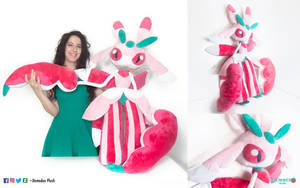 Lurantis Plush by DemodexPlush