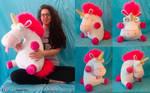 Fluffy unicorn Plush