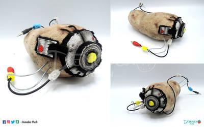 Potato Battery Plush by DemodexPlush