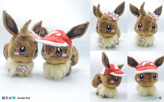 Eevee chibi plush for sale