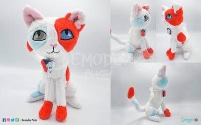 Magical Cat plush by DemodexPlush