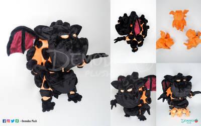 Lava Hound Plush