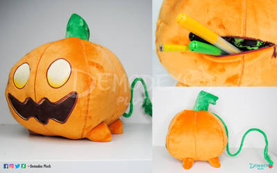 Pumpkin custom plush