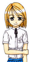 School Girl (colour)