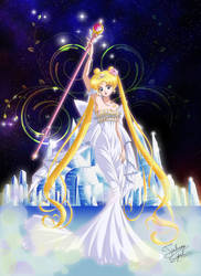 Neo Queen Serenity Crystal by Taulan-art