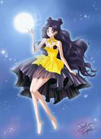 Luna, Princess Kaguya Crystal style by Taulan-art