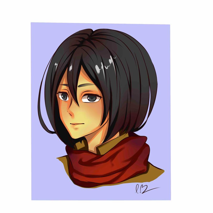 Mikasa by TrangLuu