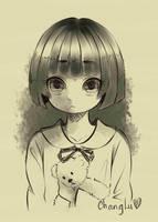 The evil girl in my nightmare by TrangLuu