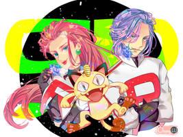 Rocket Team by TrangLuu