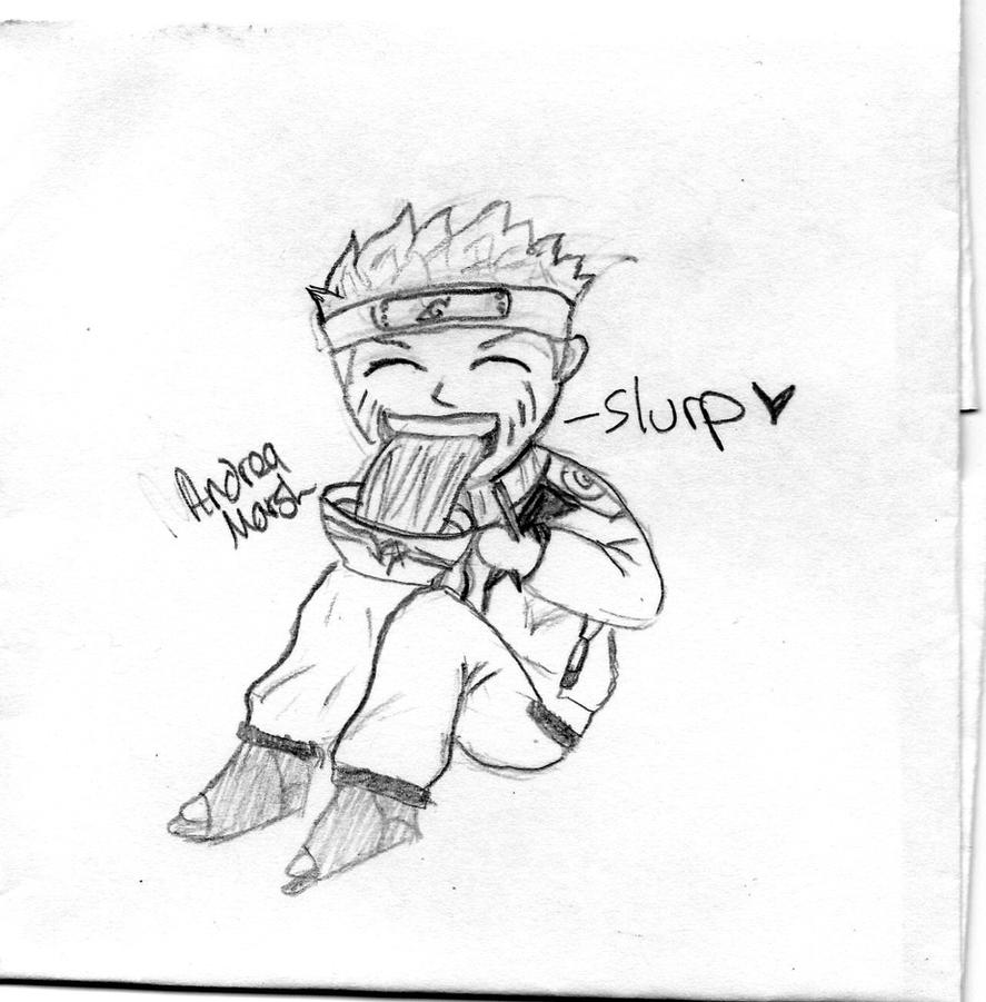 naruto eating ramen coloring pages - photo#8