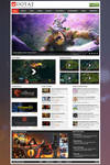 Dota 2 Fansite Template