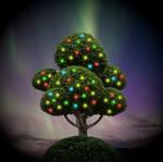 'O' Christmas Tree by MostlyWood