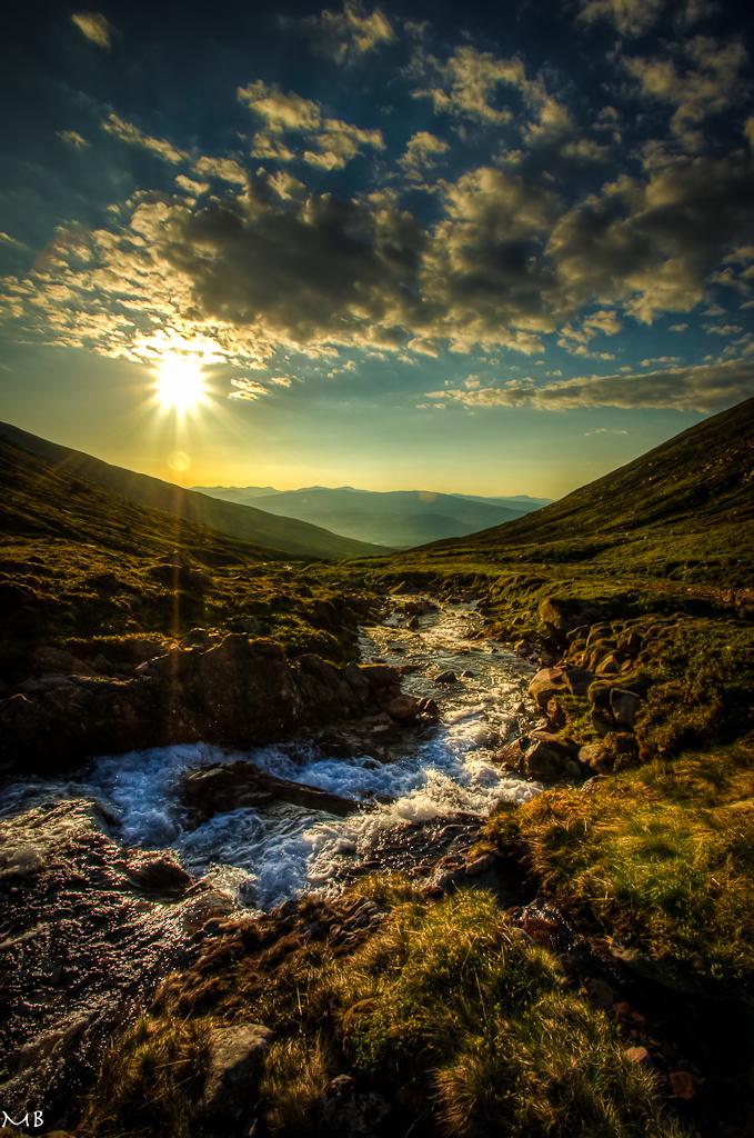 The Scottish Highlands by Bakisto